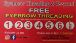 Eyebrow Threading & Beyond